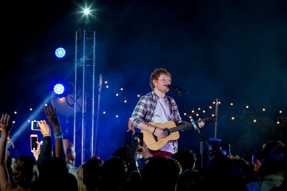 Ed Sheeran @ Cannes Lions for Cheerful Twentyfirst