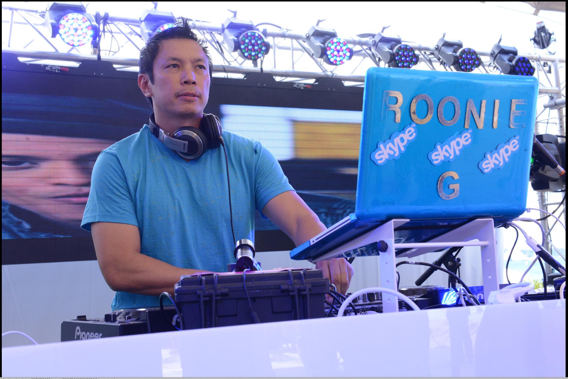 DJ Roonie Skype party