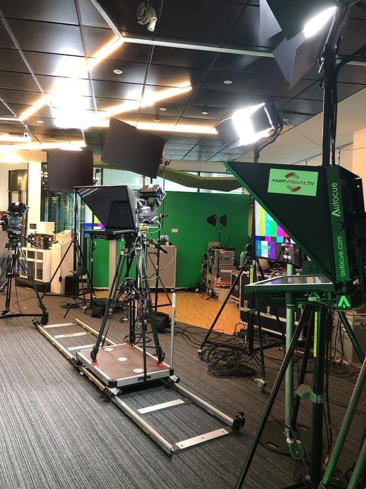 Corporate TV live broadcast